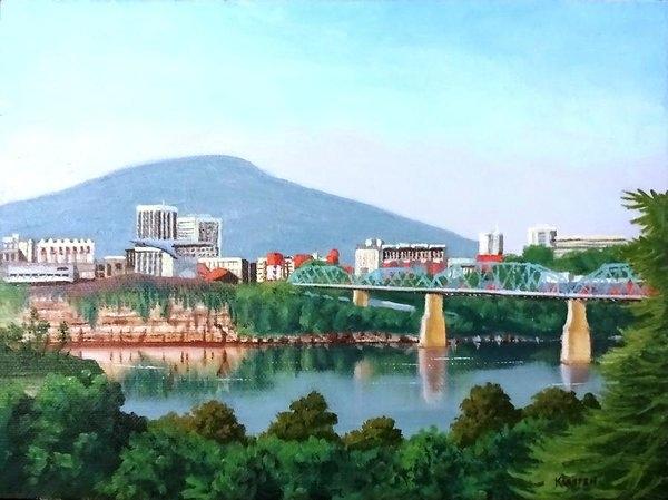 Karsten Kittelsen - Chattanooga - View from Bakers Street