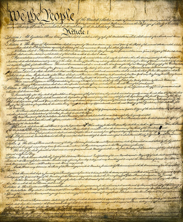 Daniel Hagerman - CONSTITUTION of the UNITED STATES