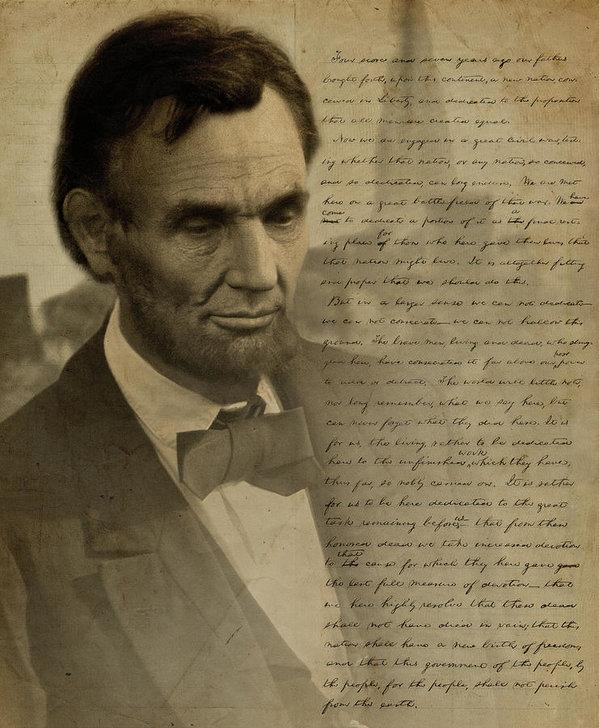 Ray Downing - Lincoln at Gettysburg