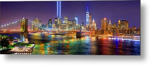 Jon Holiday - New York City Brooklyn Bridge Tribute in Lights Freedom Tower World Trade Center WTC Manhattan NYC