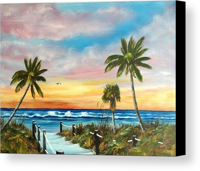 Lloyd Dobson - Siesta Key At Sunset