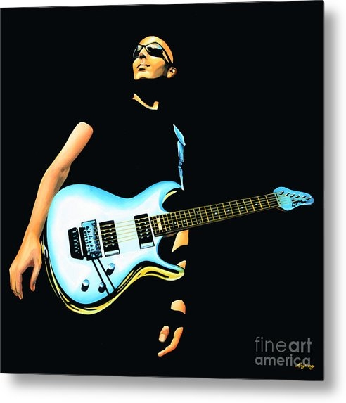 Paul Meijering - Joe Satriani Painting