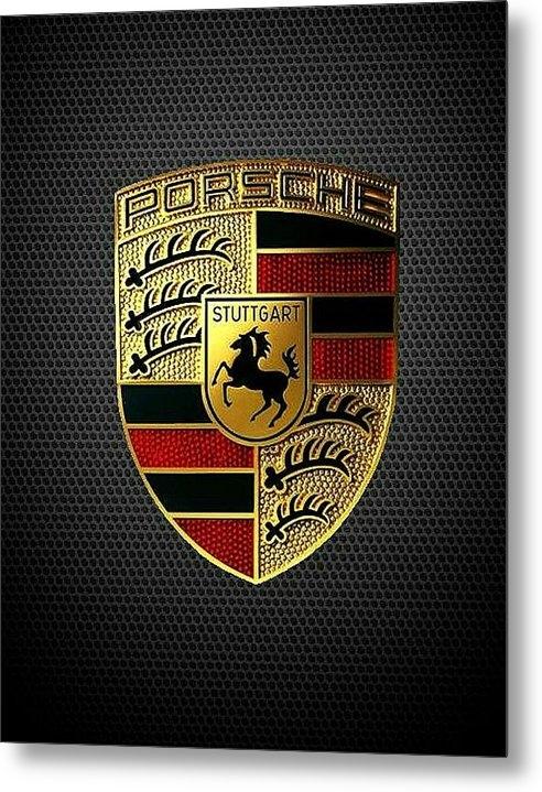 Porsche Emblem - Porsche Emblem