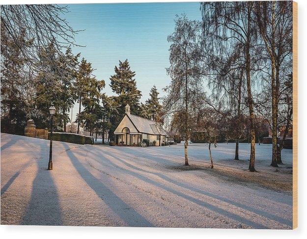 Jim Hillman - Chapel in the Snow