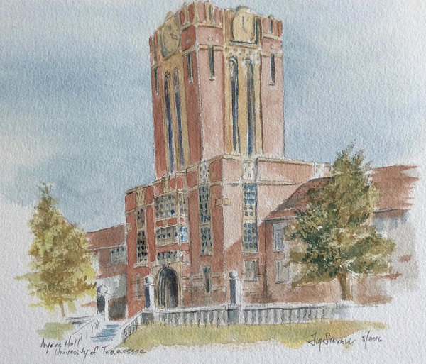 Jim Stovall - Ayres Hall, University of Tennessee