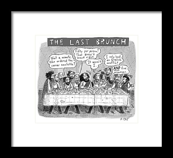 Roz Chast - The Last Brunch