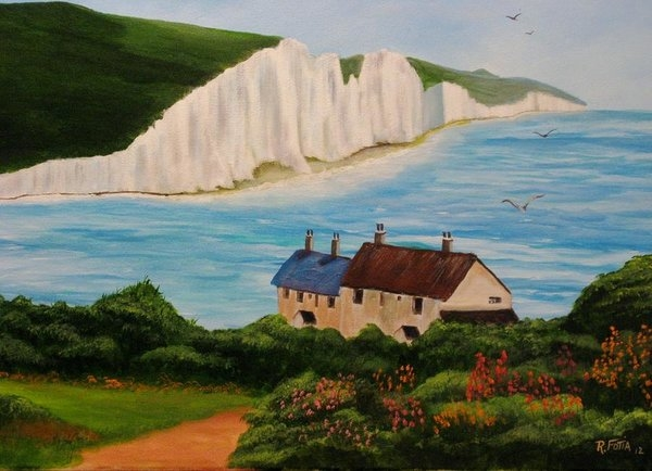 White Cliffs of Dover by Rich Fotia