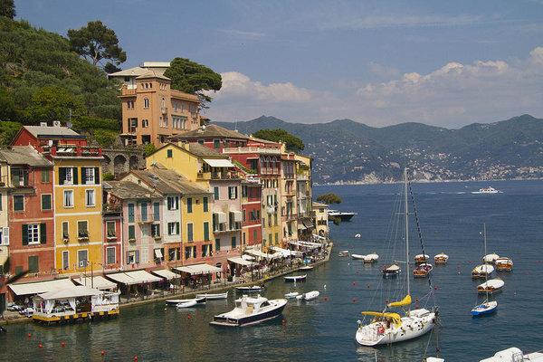 David Smith - Portofino in the Italian Riviera in Liguria Italy