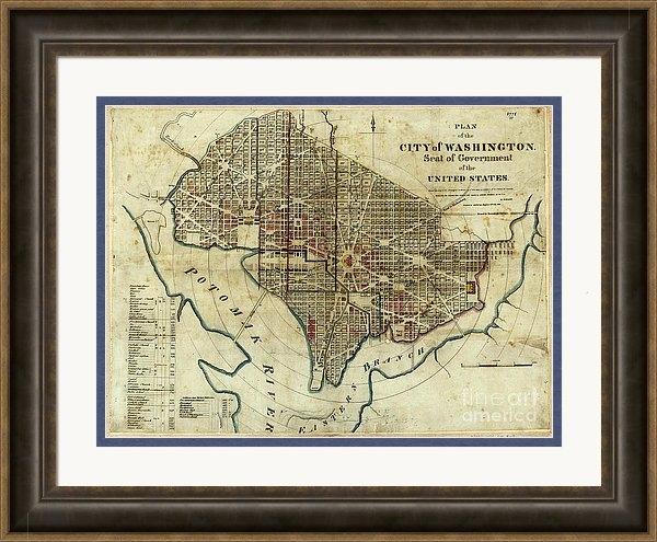 Jon Neidert - 1822 Map of Washington DC