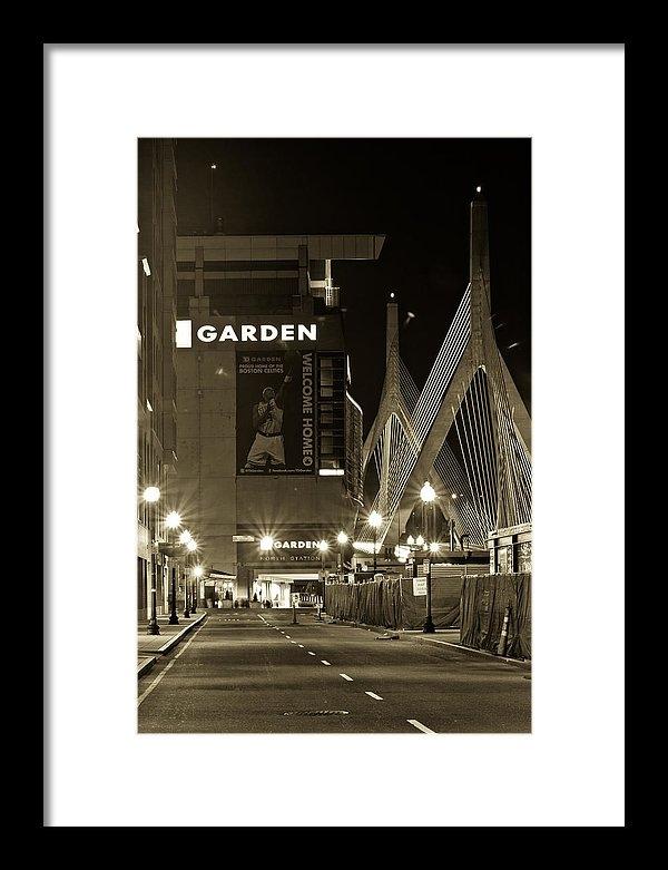 John McGraw - Boston Garder and Side Street