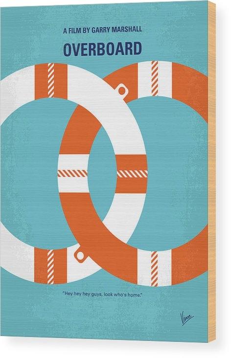 Chungkong Art - No815 My Overboard minimal movie poster