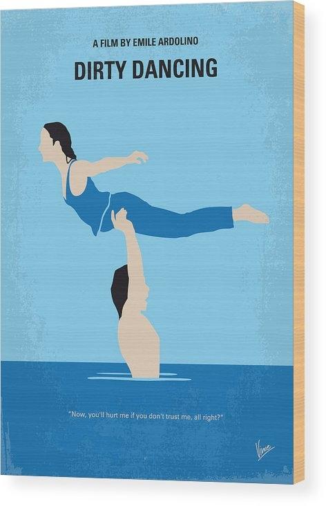 Chungkong Art - No298 My Dirty Dancing minimal movie poster