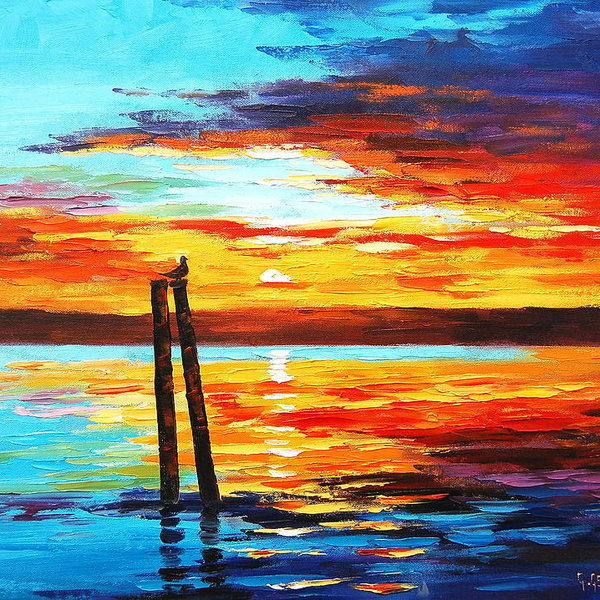 Graham Gercken - Swansea Sunset