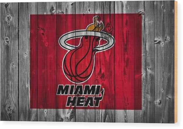 Dan Sproul - Miami Heat Barn Door