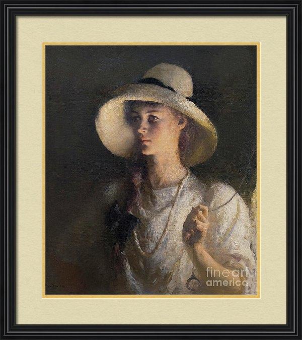 Peter Barritt - My Daughter, Frank Weston Benson, 1912, National Gallery of Art,