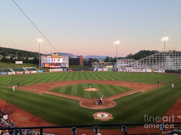 Brandon Hirt - Altoona Curve Baseball Sunset