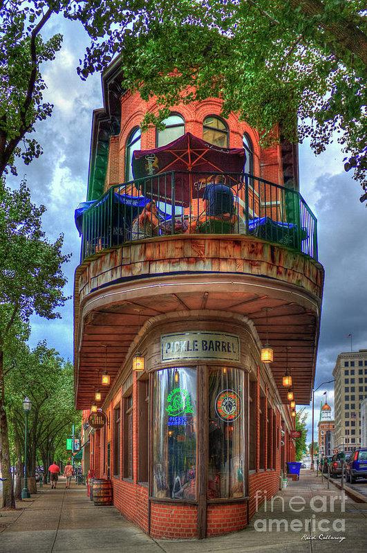 Reid Callaway - The Pickle Barrel Chattanooga TN Art