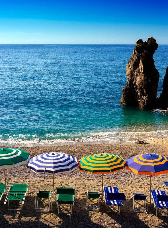 John Wong - Italian beach scene