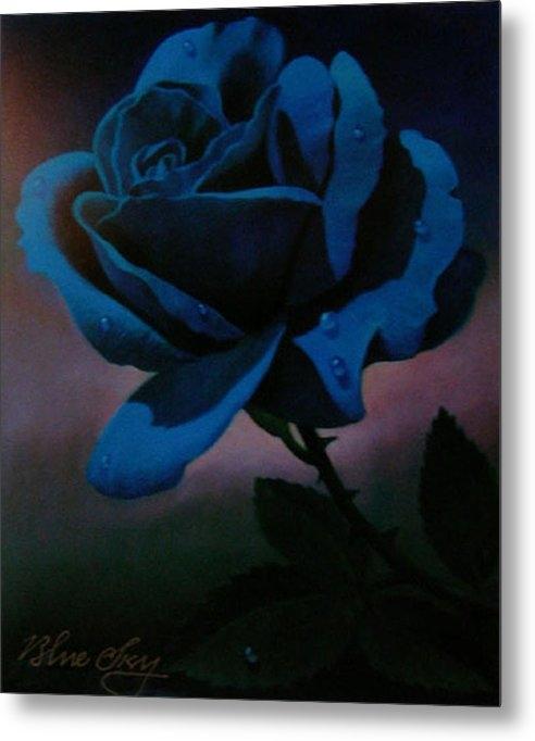 Blue Sky - Blue Rose