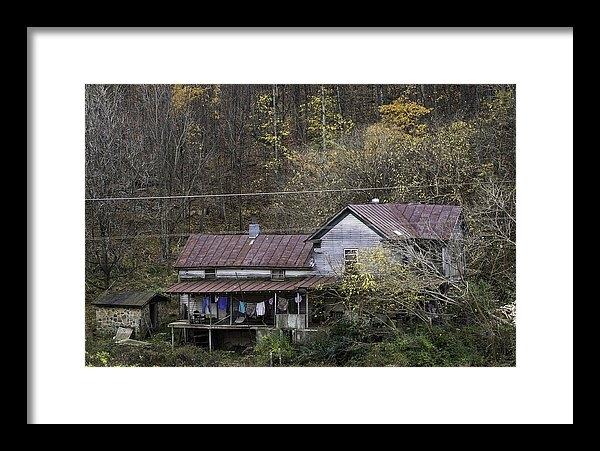 Edd Fuller - Wash House in Fall