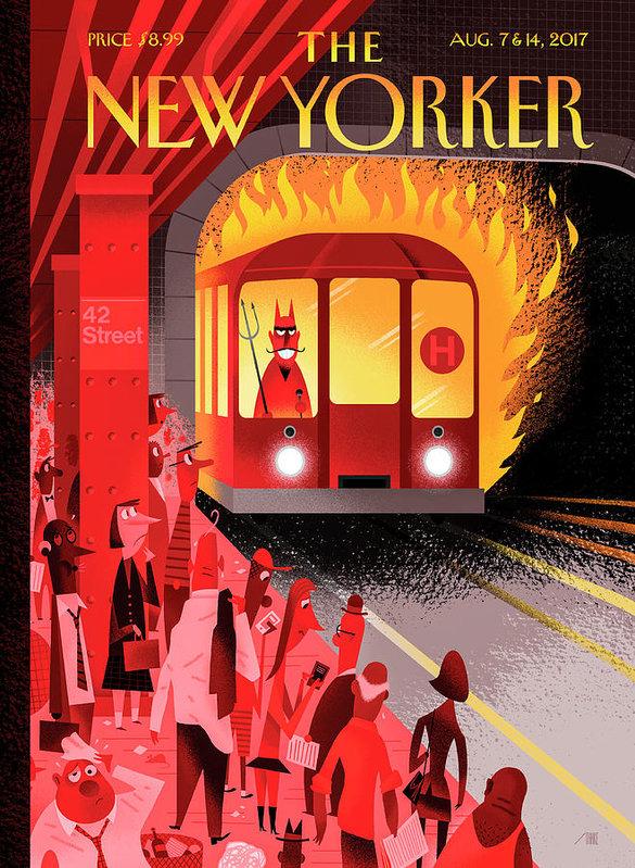 Bob Staake - Hell Train