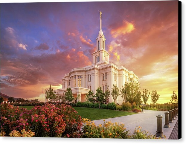 Tausha Coates - Payson Temple, He Remembers the One