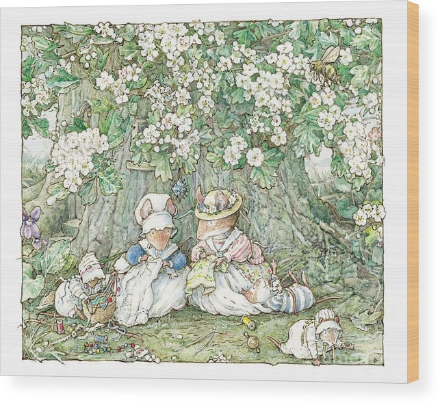 Brambly Hedge - Brambly Hedge - Hawthorn blossom and babies