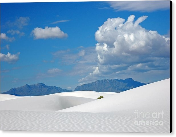 Vivian Christopher - Clouds over the White Sands