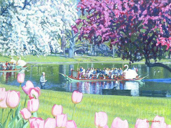 Candace Lovely - Springtime Swan Ride