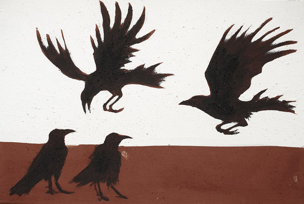 Four Crows by Sophy White