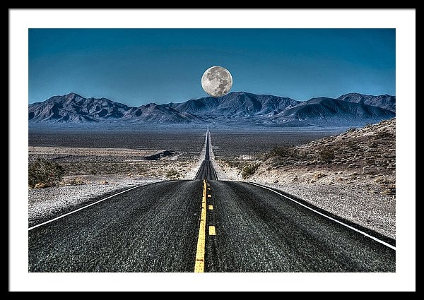 Donna Kennedy - Full Moon Over Death Valley