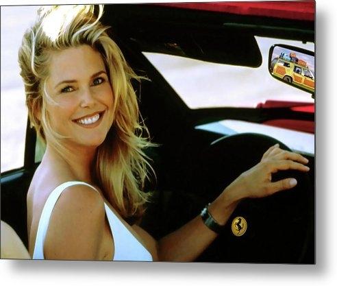 Thomas Pollart - Christie Brinkley, Ferrari, National Lampoons Vacation