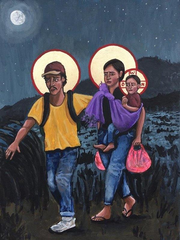 Kelly Latimore - Refugees La Sagrada Familia