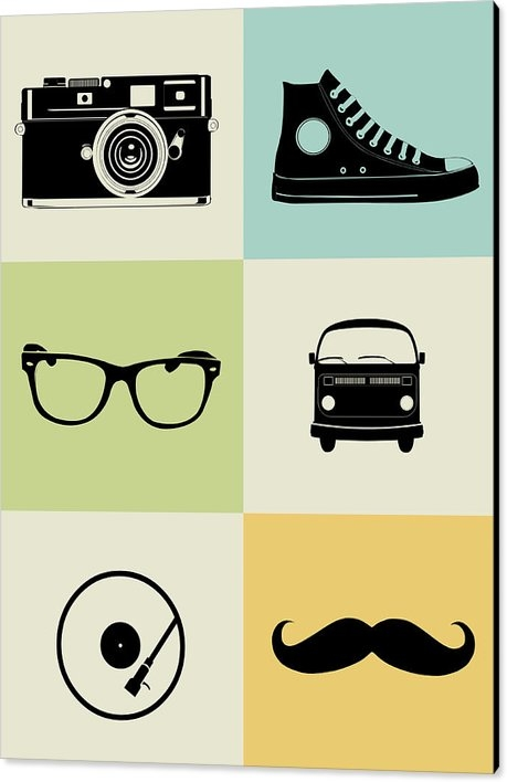 Naxart Studio - Hipster Mix Poster