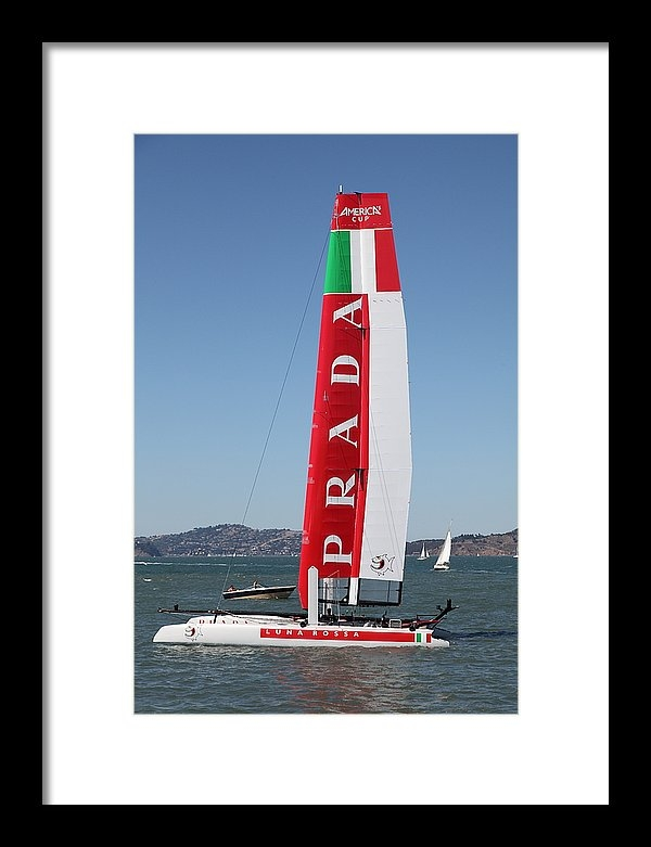 Wingsdomain Art and Photography - America's Cup in San Francisco - Italy Luna Rossa Paranha Sailboat - 5D18216