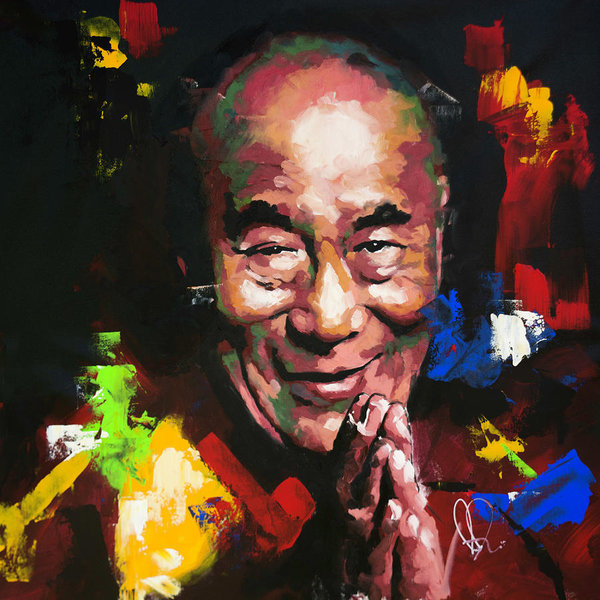 Richard Day - Dalai Lama