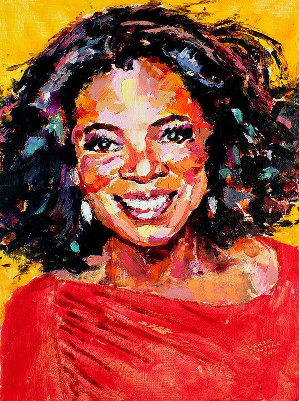 Derek Russell - Oprah Winfrey