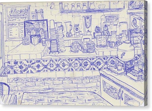 Neil Galland - Alana's Coffee Shop, Mar Vista