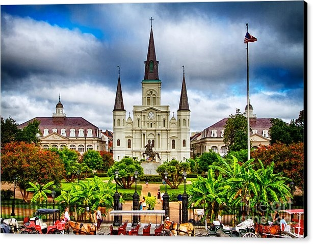 Jarrod Erbe - Jackson Square New Orleans