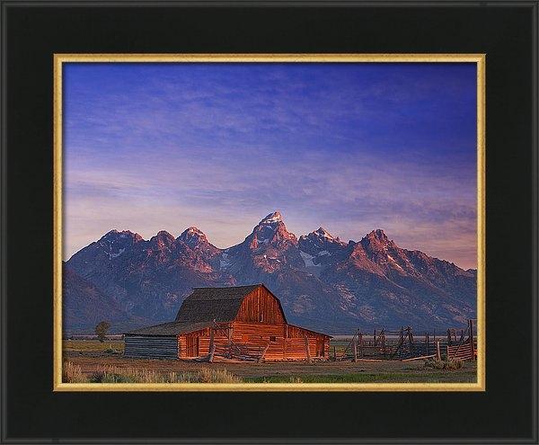 Darren  White - Teton Sunrise