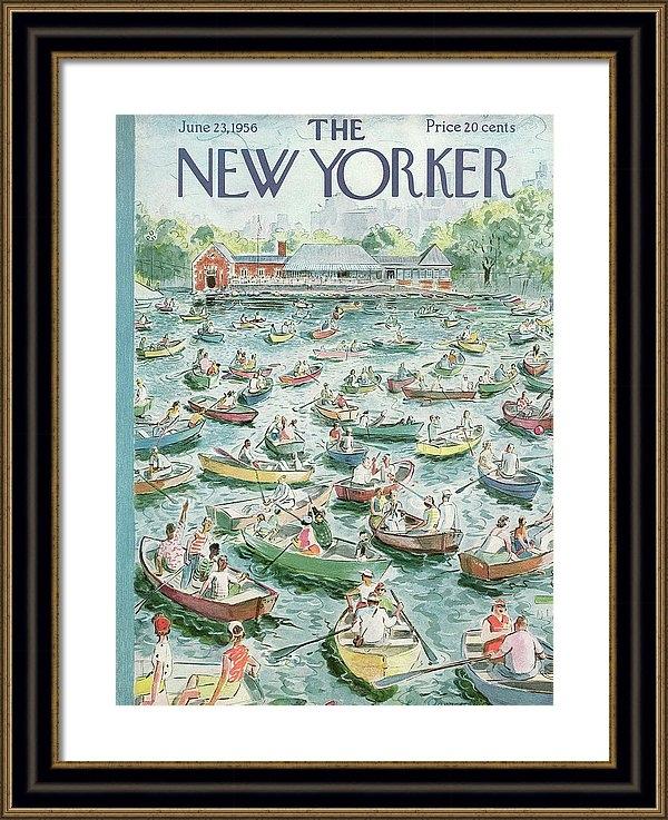 Garrett Price - New Yorker June 23rd, 1956
