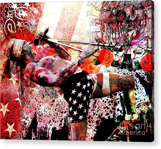 Ryan Rock Artist - Axl Rose Original