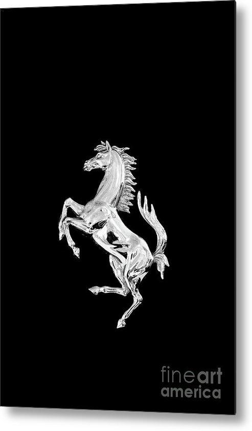 Paul Ward - Ferrari Badge on Black