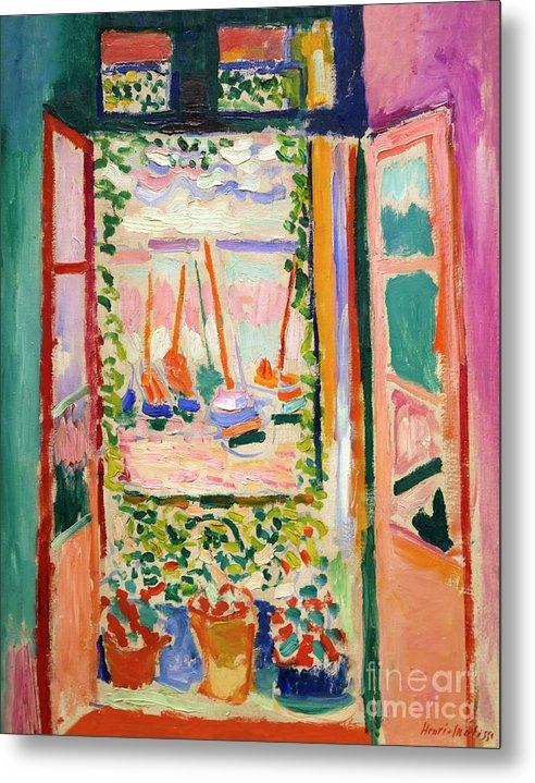 Peter Barritt - Open WIndow, Collioure, Henri Matisse, 1905, National Gallery of