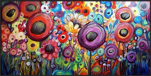 Luiza Vizoli - Dancing Poppies Garden of Eden