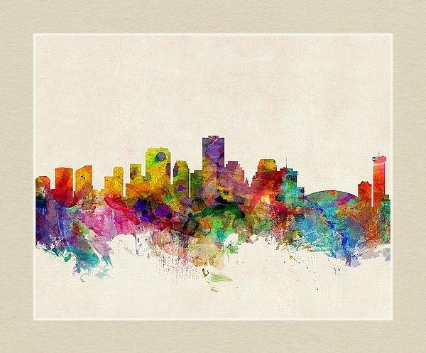 Michael Tompsett - New Orleans Louisiana Skyline