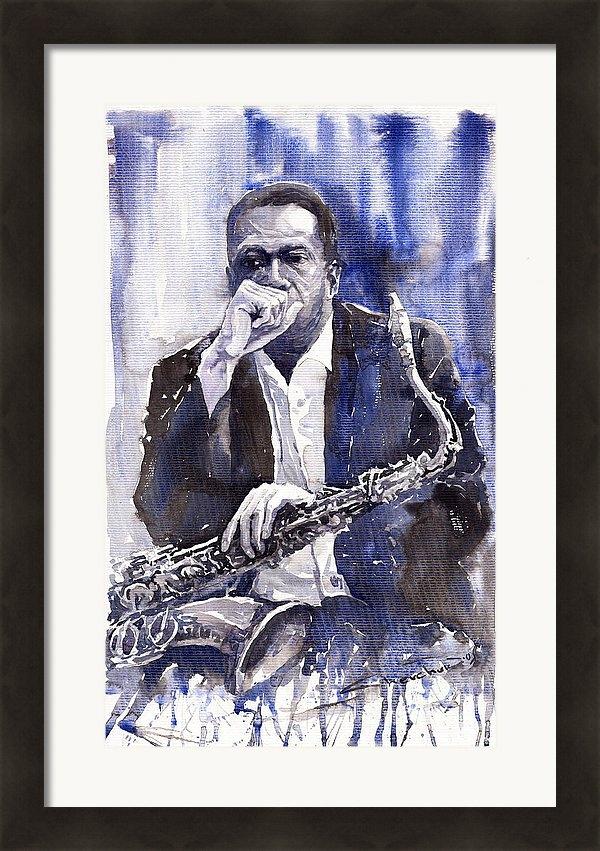 Yuriy Shevchuk - Jazz Saxophonist John Coltrane blue