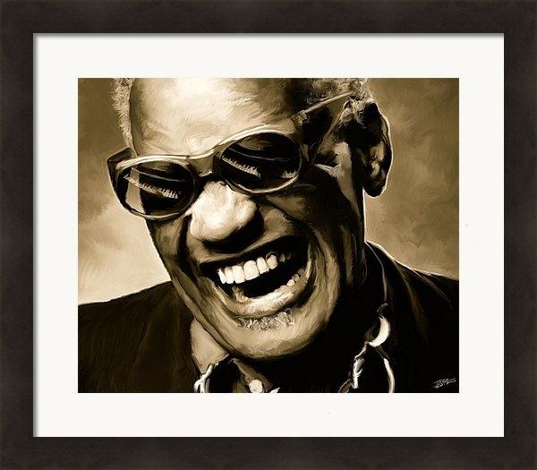 Paul Tagliamonte - Ray Charles - Portrait