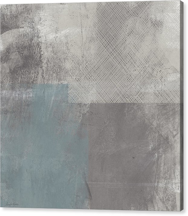 Linda Woods - Concrete 3- Contemporary Abstract art by Linda Woods
