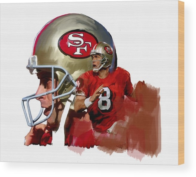 Iconic Images Art Gallery David Pucciarelli - Steve Young